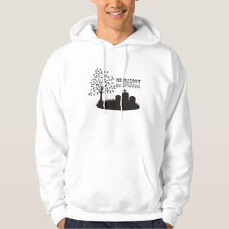 Discovering The Past. Inspiring The Future Hooded Sweatshirt