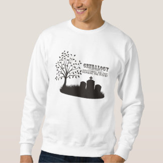 Discovering The Past. Inspiring The Future Pullover Sweatshirts