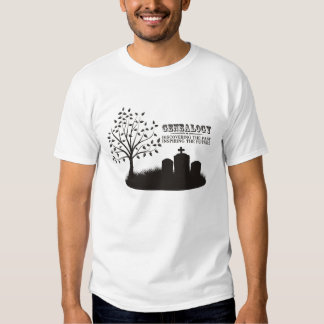 Discovering The Past. Inspiring The Future Shirts