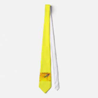 discovering yellow tie