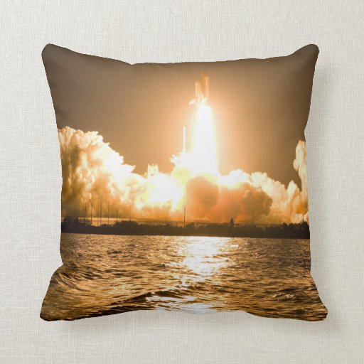 Discovery Lift Off Throw Pillow
