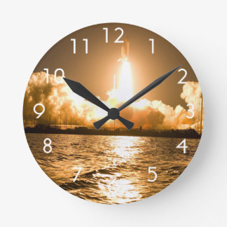 Discovery Lift Off Wallclock