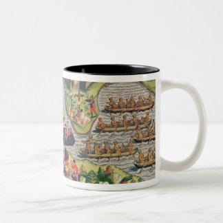 Discovery of a Cross amongst the rocks Coffee Mug