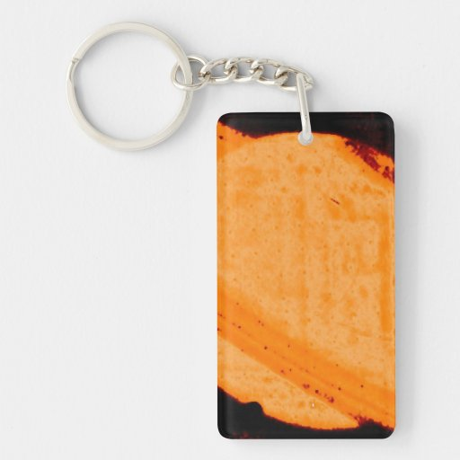 Discovery of a Dark Auroral Oval on Saturn Acrylic Key Chain