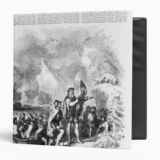 Discovery of America by John and Sebastian 3 Ring Binder