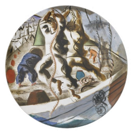 Discovery of the Land Dinner Plate