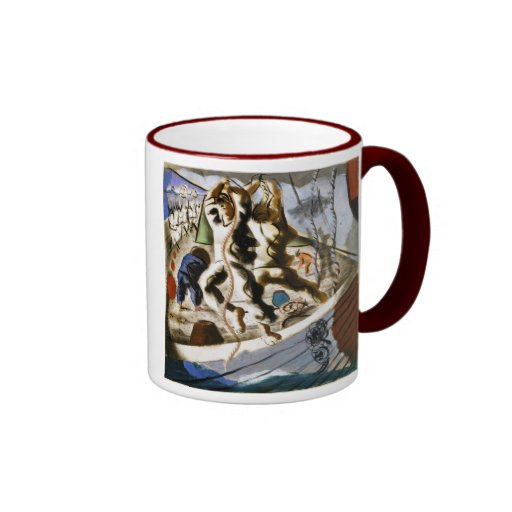 Discovery of the Land Ringer Coffee Mug