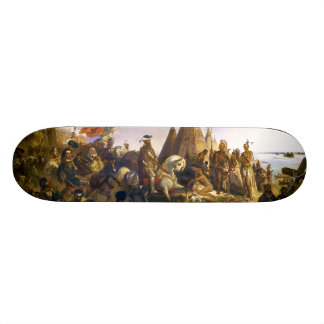 Discovery of the Mississippi by William H Powell Skateboard Deck