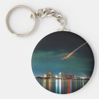 Discovery Over West Palm Beach keychain