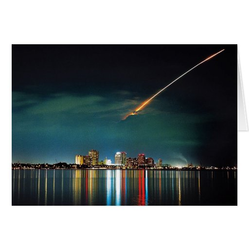 Discovery Over West Palm Beach note card