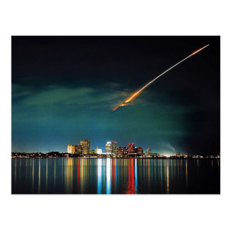 Discovery Over West Palm Beach postcard