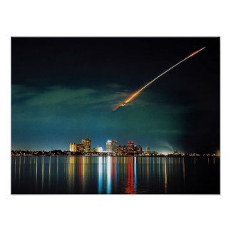 Discovery Over West Palm Beach print