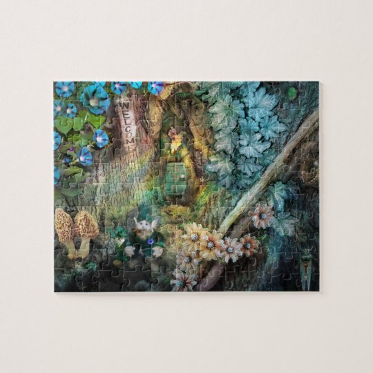 Discovery, puzzle, Gnome Jigsaw Puzzle