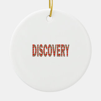 DISCOVERY Research Search Innovation Science Cosmo Christmas Ornament