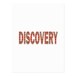 DISCOVERY Research Search Innovation Science Cosmo Postcard