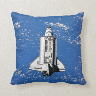 Discovery Seen From Mir Throw Pillow