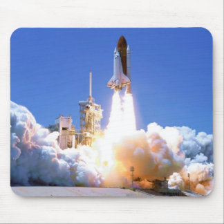 Discovery Shuttle Launch Mouse Pads