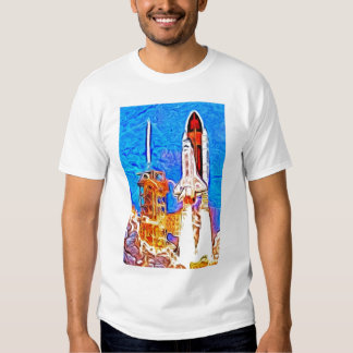 Discovery Space Shuttle Lift Off Shirt