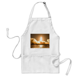 Discovery Space Shuttle Liftoff Adult Apron
