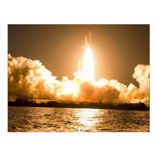 Discovery Space Shuttle Liftoff Postcard