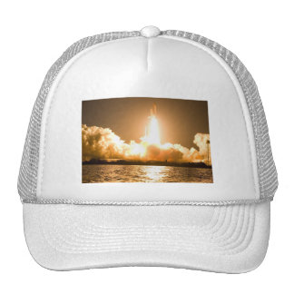 Discovery Space Shuttle Liftoff Trucker Hat