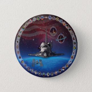 Discovery Tribute OV 103 Button