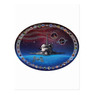 Discovery Tribute OV 103 Postcard