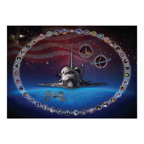 Discovery Tribute Poster zazzle_print