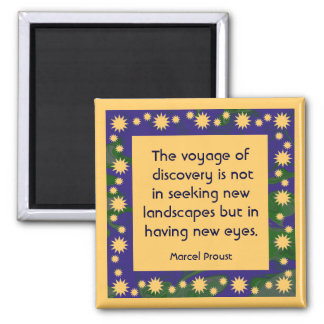 discovery voyage 2 inch square magnet