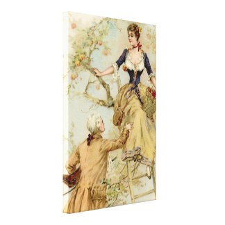 Discreet French Charm Canvas Print