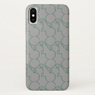 discreet green bike iPhone x case