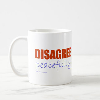 Discrepa pacífico - el naranja taza de café