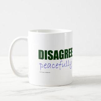 Discrepa pacífico - el verde taza