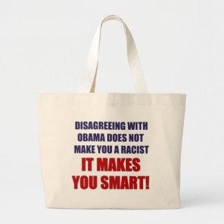 Discrepancia con Obama Bolsa De Mano