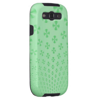 Discs on Mint Green Samsung Galaxy S3 Covers