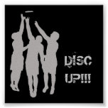 "DISCUP!!! 23""x23"" Poster"