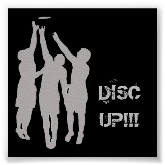 """DISCUP!!! 23""""x23"""" Poster"""