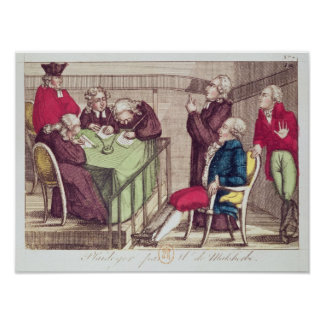 Discurso de la defensa de Monsieur de Malesherbes Posters