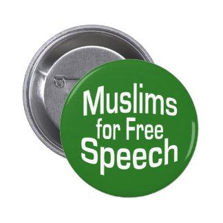 Discurso de los musulmanes gratis pins