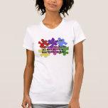 Discurso del autismo camiseta