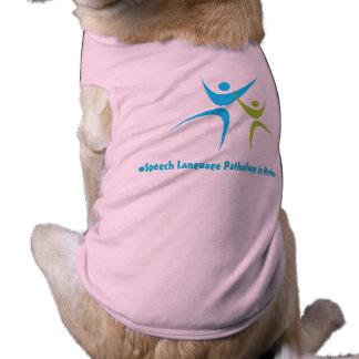 Discurso en el movimiento - ropa del perro playera sin mangas para perro