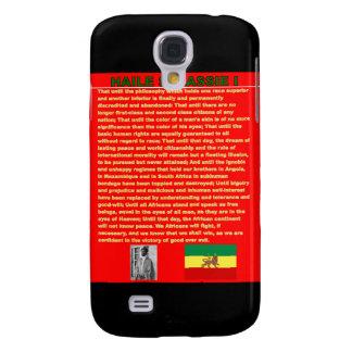 Discurso famoso de la guerra de Haile Selassie a l Funda Para Galaxy S4