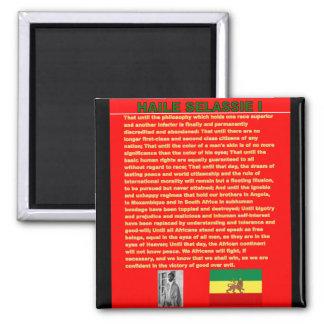 Discurso famoso de la guerra de Haile Selassie a l Iman