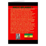 Discurso famoso de la guerra de Haile Selassie a l Felicitaciones