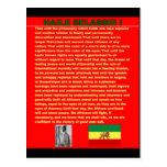 Discurso famoso de la guerra de Haile Selassie a l Postales