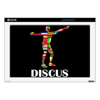 "Discus 17"" Laptop Decal"