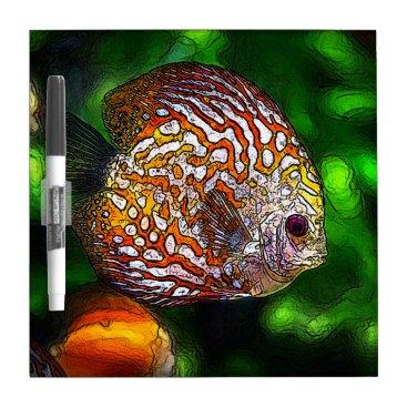 McTiffany Tiffany Aqua Discus_20170601_by_JAMColors Dry-Erase Board