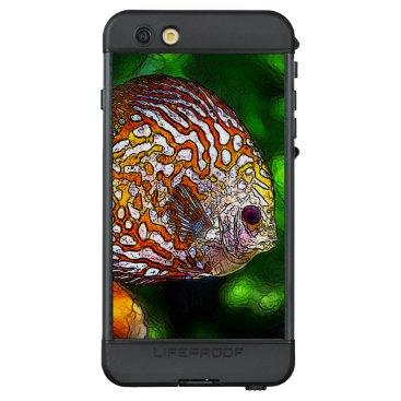 McTiffany Tiffany Aqua Discus_20170601_by_JAMColors LifeProof NÜÜD iPhone 6s Plus Case