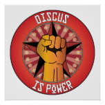 Discus Is Power Print