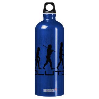 Discus Sport Evolution Art Aluminum Water Bottle
